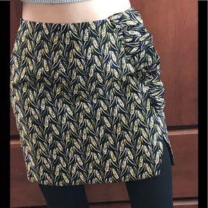 NWT N12H jacquard mini skirt XS 0-2